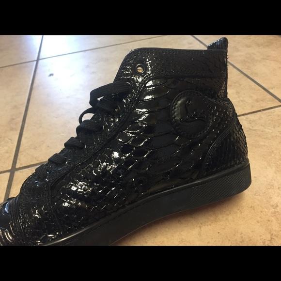 ae317a84d33 100% Authentic Christian Louboutin gator men shoe.